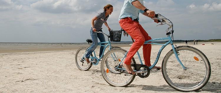 Pistes cyclables et boucles découverte en baie de Somme